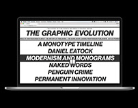 The Graphic Evolution — Website