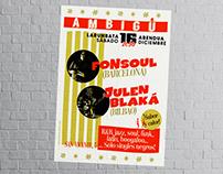 """Poster """" Fonsoul & Blaká"""""""