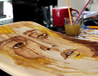 Crying Coffee Water Paint