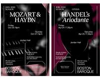 Event Graphics: Boston Baroque