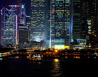 Hong Kong's night view & camera spot