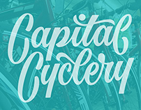Capital Cyclery branding