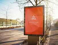 Free PSD Mockup Outdoor Advertising