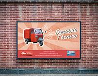 Letreros con nuevo estilo - Ape Piaggio Chile