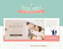 Fresh Minds Photography Website