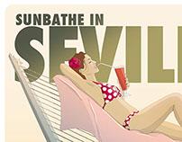 Sunbathe in Sevilla