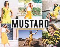 Free Mustard Mobile & Desktop Lightroom Presets