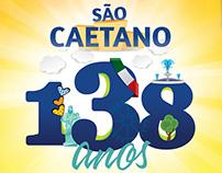 São Caetano 138 anos