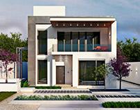 Проект загородного дома для отдыха в современном стиле