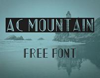AC Mountain (Free Font)