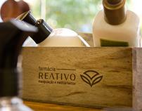 Farmácia Reativo • Visual Identity & Branding redesign