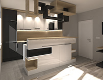 Small kitchen project for a young family.