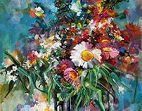 bouquet / 50x60cm