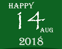 Pakistan 14 August 2018 Independence Day