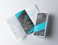 Laskar Corporate Tri-fold Brochure Template