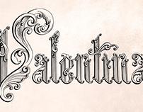 Valentina Calligraphy