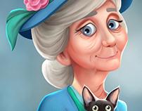 Miss Pinkerton & Pixie