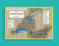 Health Valley map