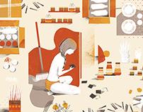 La vuelta al mes en 30 ilustradores 2015
