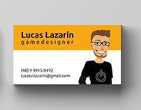 Cartão de Visitas - Lucas Lazarin