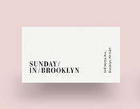 Sunday In Brooklyn
