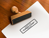 Free Rubber Stamp Mockup PSD