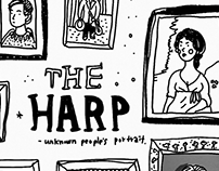 A drawing for 'The Harp' pub in London