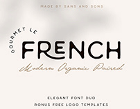 Le French | Modern Elegant Duo