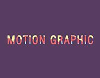 Motion Graphic :)
