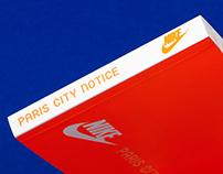 Nike Paris city notice