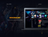 HDSERIALHIT - site redesign for watching movies
