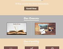 MNAOPU-EDU Template / UI & UX Design