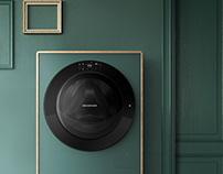 Drawsher - Washing machine with dehumidifier