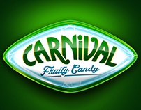 Carnival candy packaging design