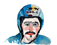 POLISH EAGLE / painted zine about Adam Malysz