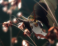 2015 - Steampunk bugs collection - Moth.