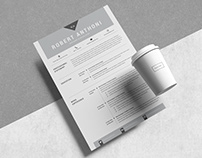 4 Pages Creative Resume Pack