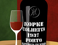 Port Poster for Portvinsbaren