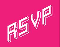 RSVP Event Festival - Visual Identity & Event Branding