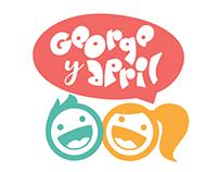 George y April MARZO 2017