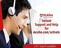 How to install the McAfee Activate on your computer
