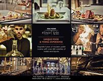 Restauracja Elixir / Dom Wódki - Magazine Advert