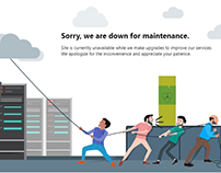 Downtime Page