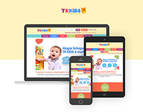 TR Kids - responsive project