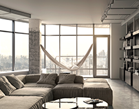 Apartment project «7NebO» / Full CG