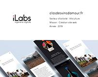 Site Web : Clos des Vins d'Amour