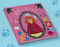Where Is My Cat? - Children's book