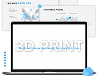 Presentation for 3D Print Start-Up