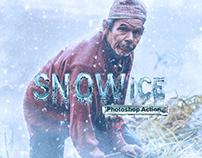 Snow Ice Photoshop Action