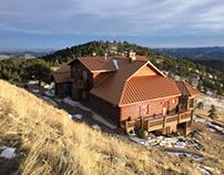 Golden Colorado Mountain Log Home Finishing